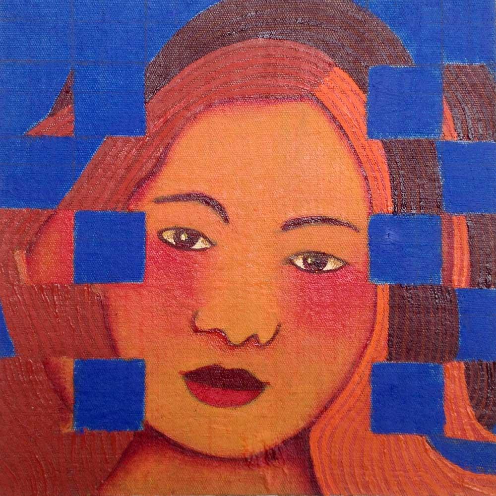 2017 Gauguin, óleo s/brim, 17x17cm