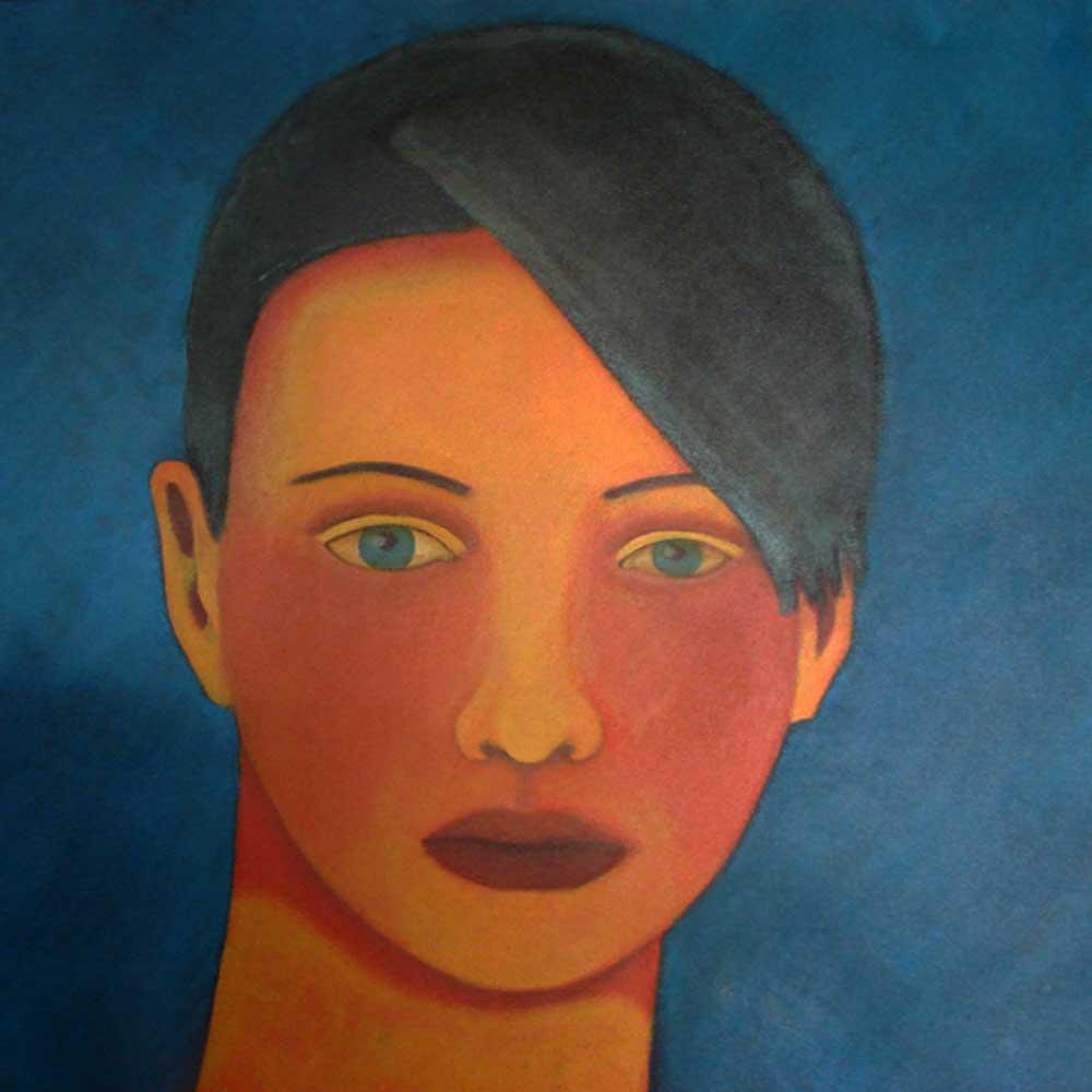 2000, Fragmentação11, óleo/tela, 60x60cm