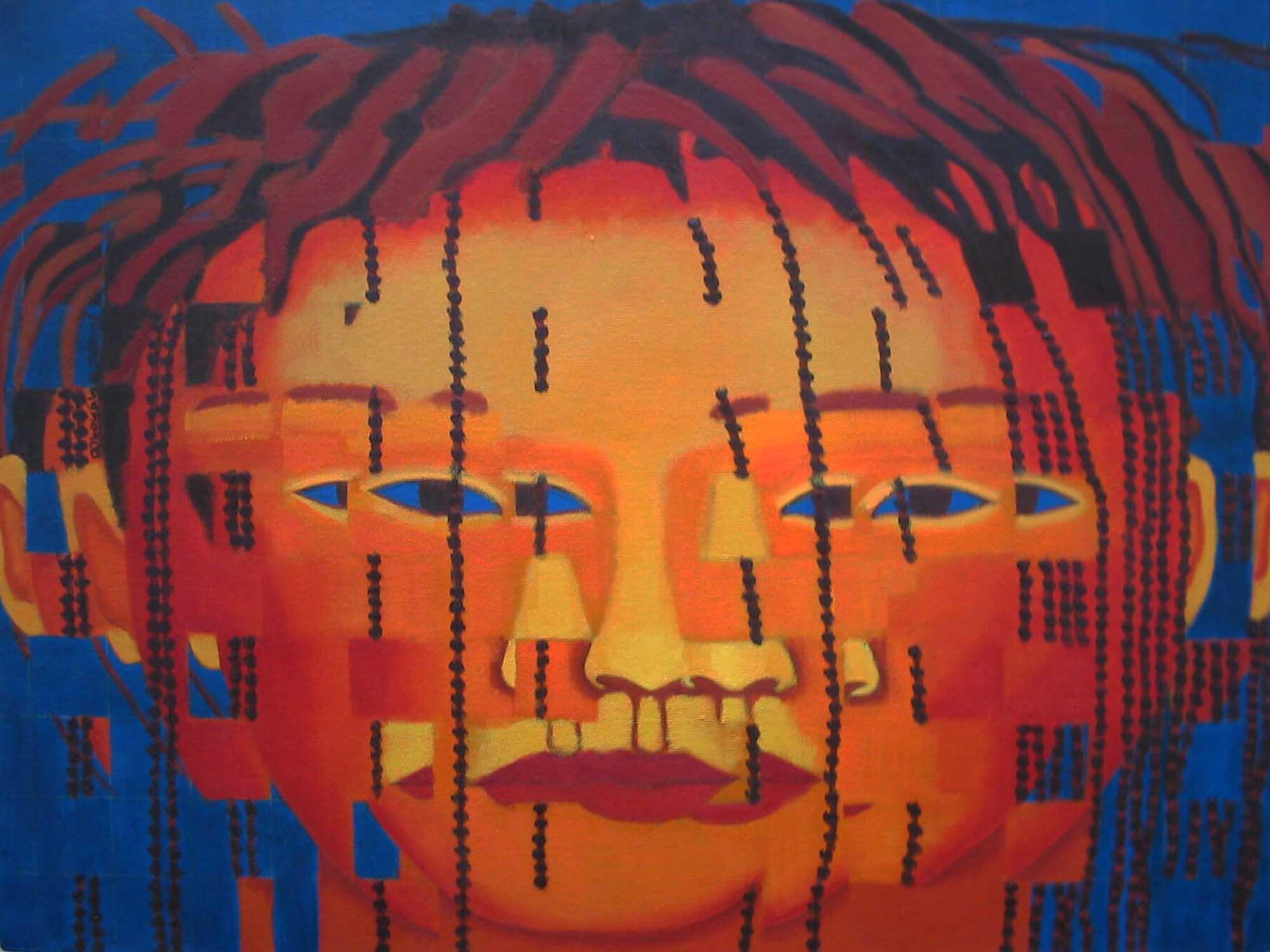2000, Fragmentação2, óleos/tela, 60x80cm