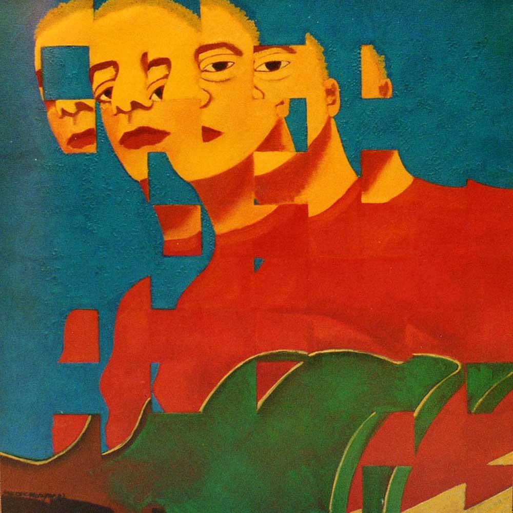 2003 Fragmentação Lulu Santos 50x50cm