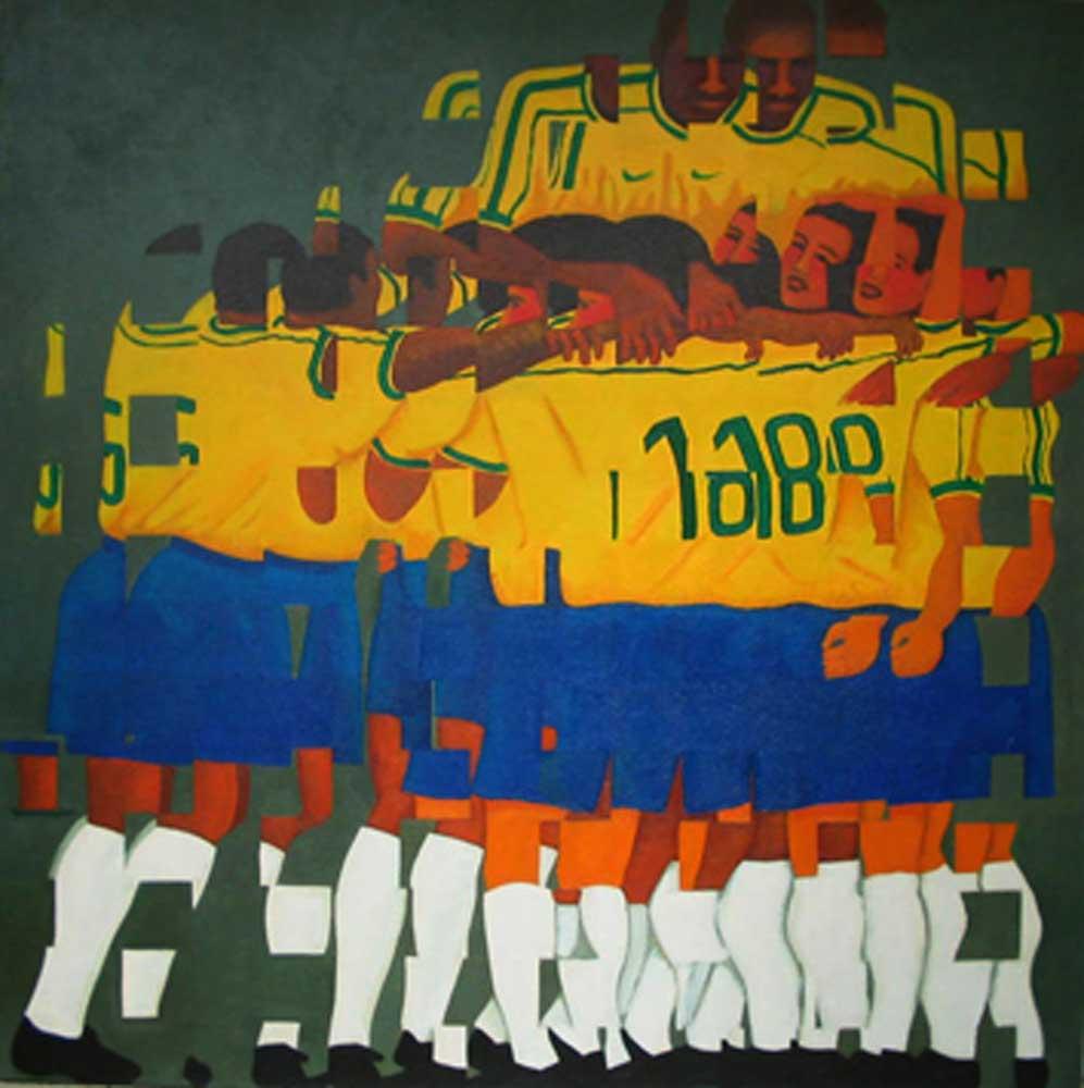 2006 3 fragmentação 34 óleo/tela 80x80cm