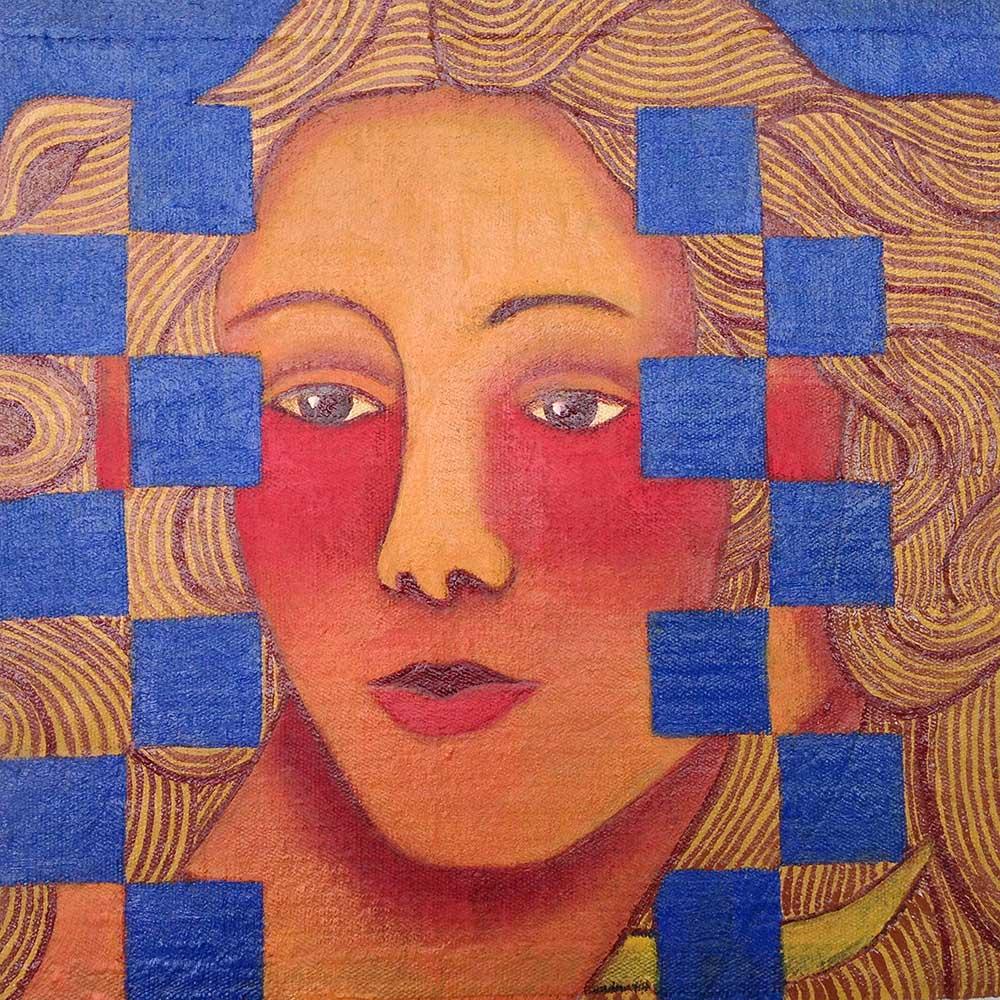2017 Botticelli, óleo s/brim, 20x20cm
