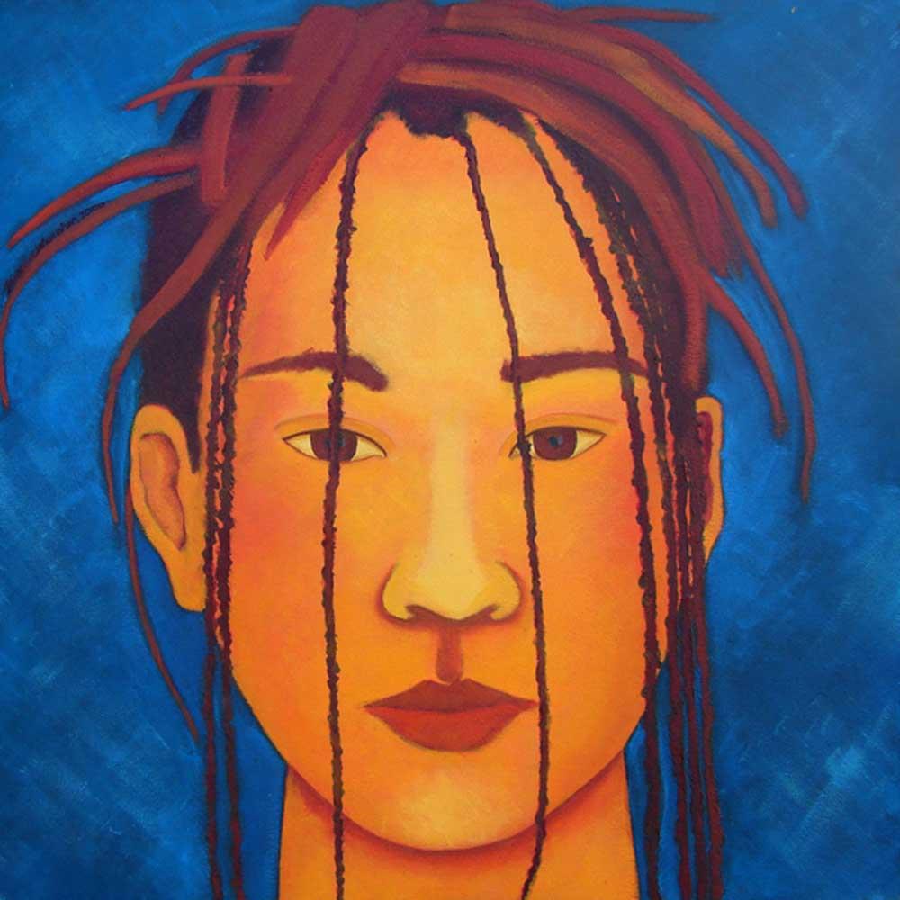 2000, Fragmentação9, óleos/tela, 60x60cm